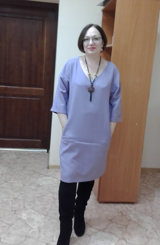 «Масляное» платье от mara-sayk