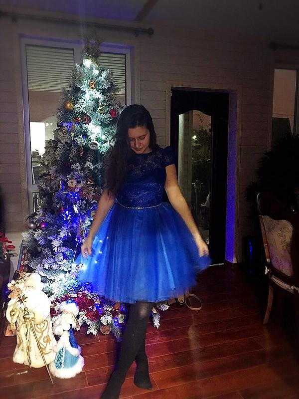 Новогоднее принцессное
