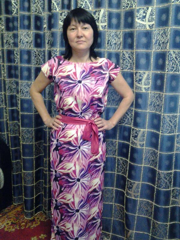 Платье безвыкройки от Олеся-2012