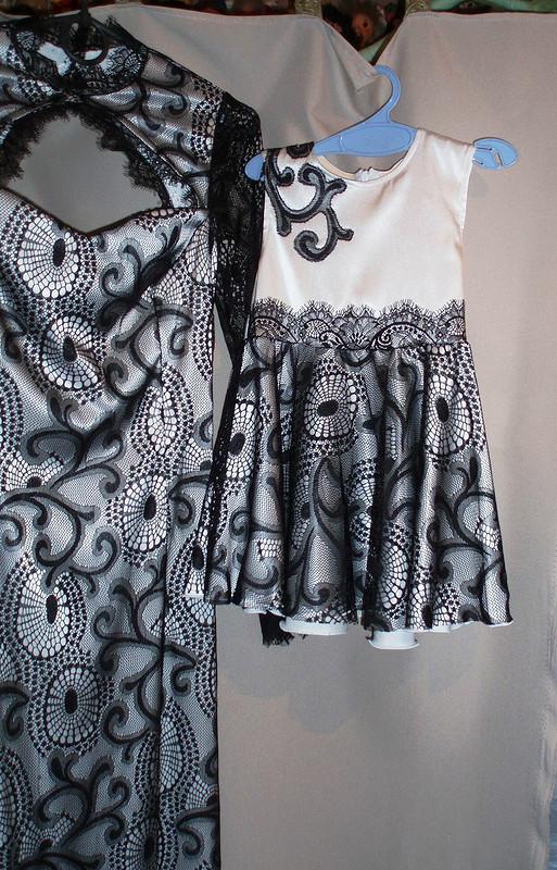 Платье длямамы ималышки
