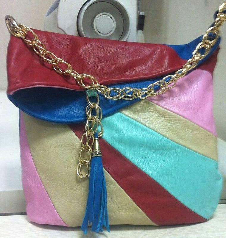 Кожаная сумочка от silisa