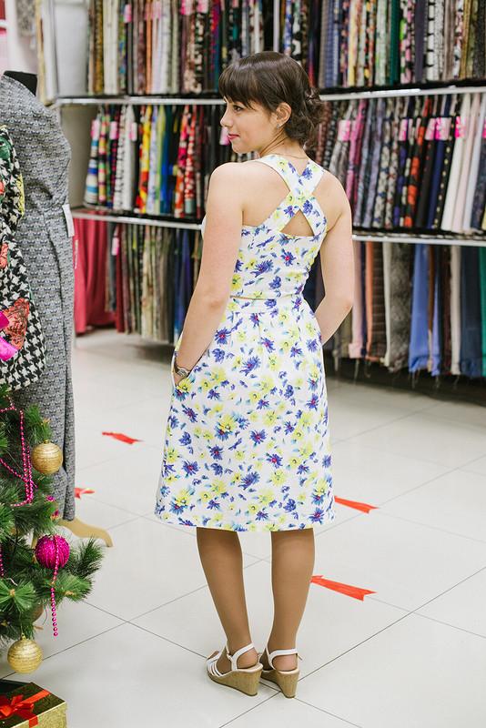 Первое платье-корсаж