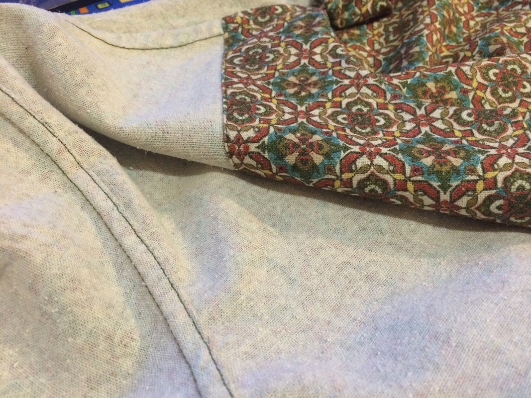 Рубашка сбантом от anna2020m