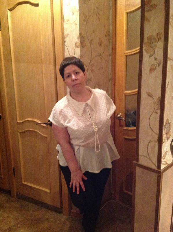 Юля! Поздравляем! Или блузка изшитья от Chivachka