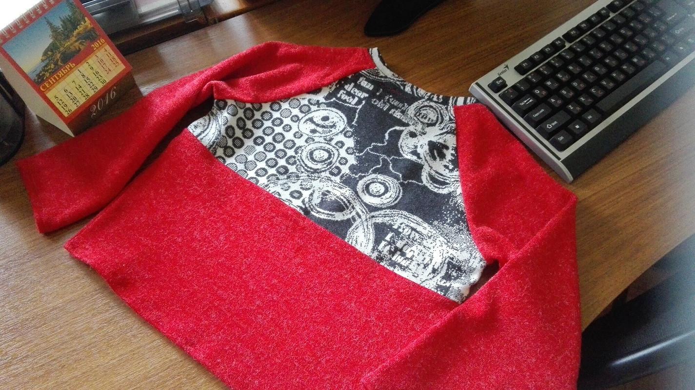 Юля! Поздравляем! или детский пуловер от Onezhi