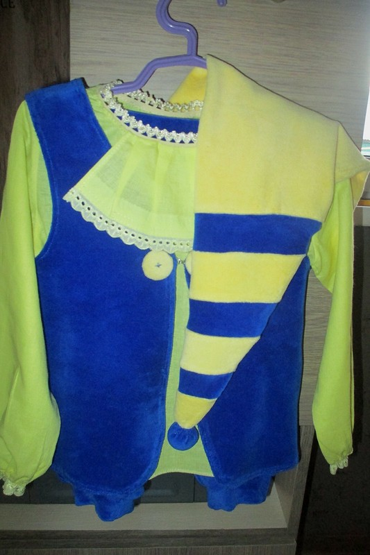 Новогодний костюм гнома от koketkina