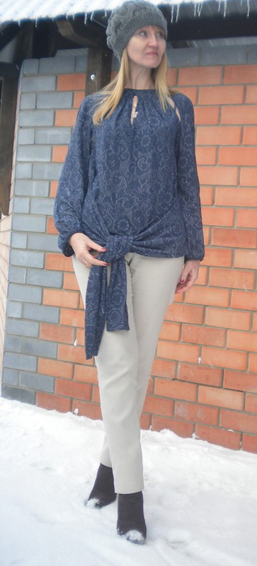 Юля,поздравляю!!!или блузка сзавязками набёдрах от Светлана Полушина