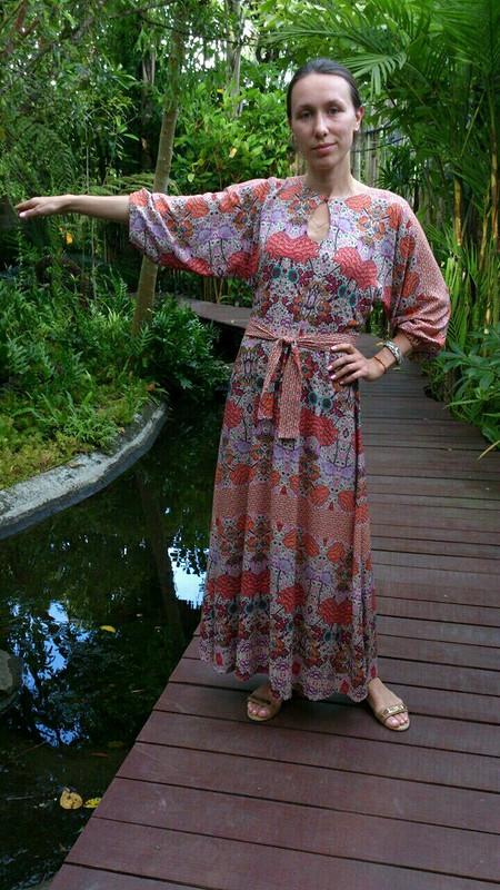 Платье-туника нахозяйке