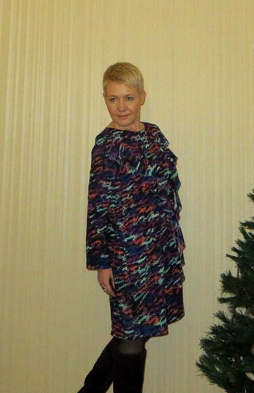 Предновогоднее платье
