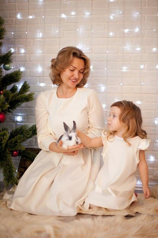 Новогодние наряды длямамы идочки от Ольга Хомич