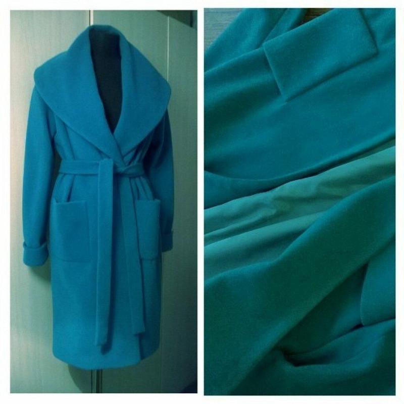 Пальто сзапахом от IrinaSharnina