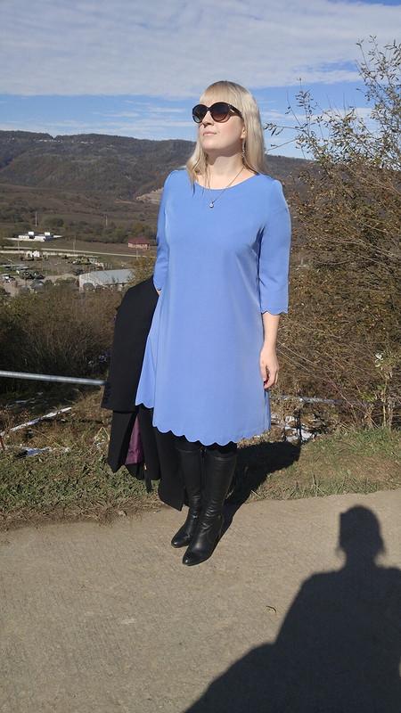Нежно-голубое от Lionella