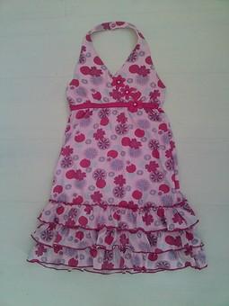 Работа с названием Детское платье р134