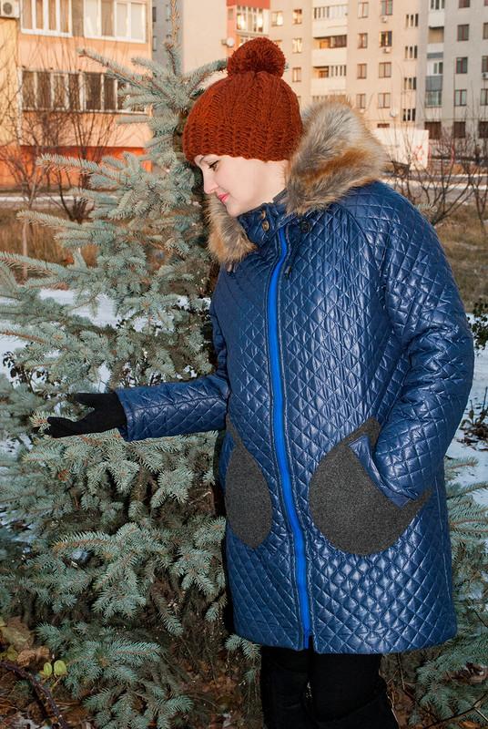 Пальто изстёжки