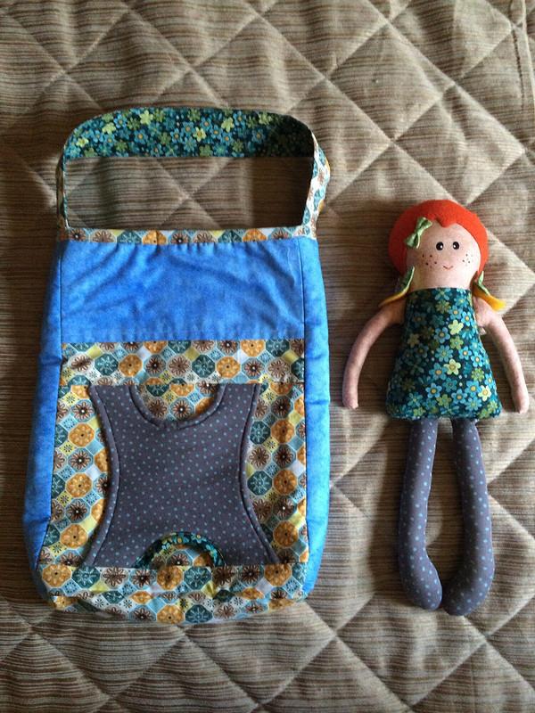 Текстильная сумка скуклой от Ir