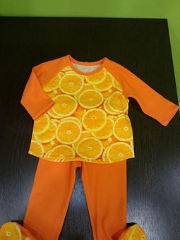 Работа с названием Апельсинки