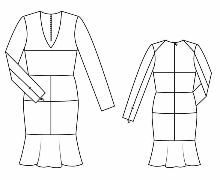 Солнечное платье