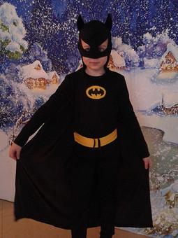 Работа с названием Карнавальный костюм Бэтман