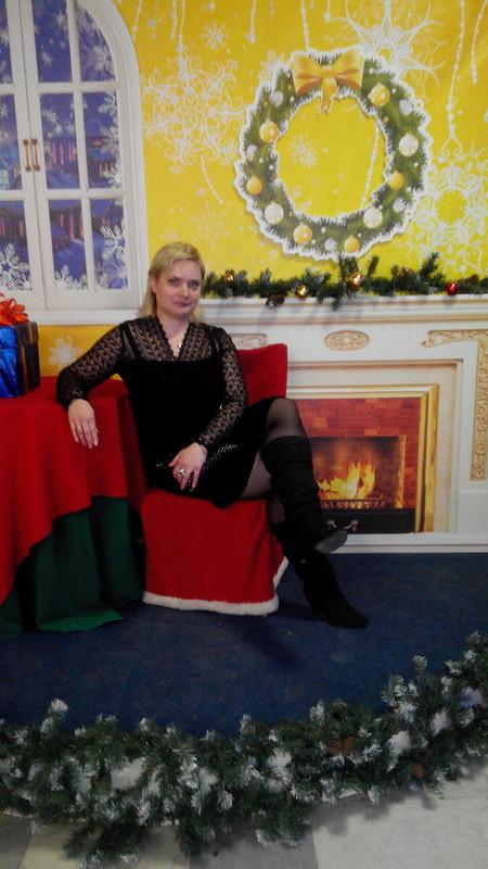 Black little dress ))))