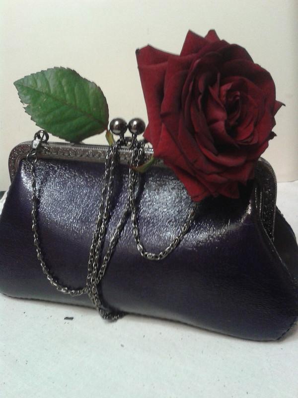 Нарядная ретро-сумочка