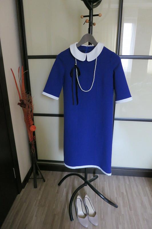 Платье сбелым воротничком от anna_zz