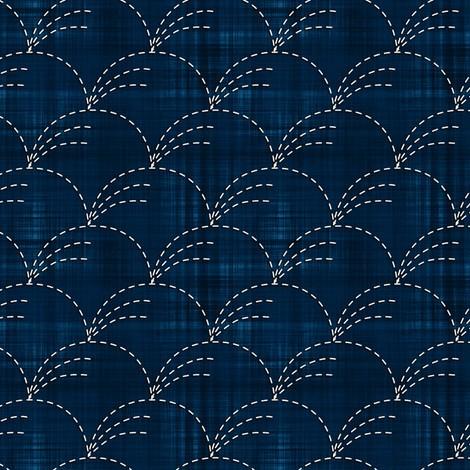 Белое насинем: традиционная японская вышивка сашико