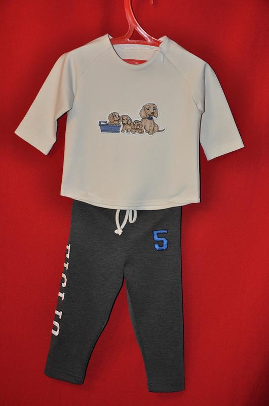 Два костюма длявнуков исвитшот длякрестника