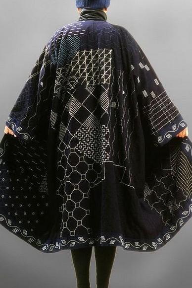Японская вышивка сашико: мастер-класс