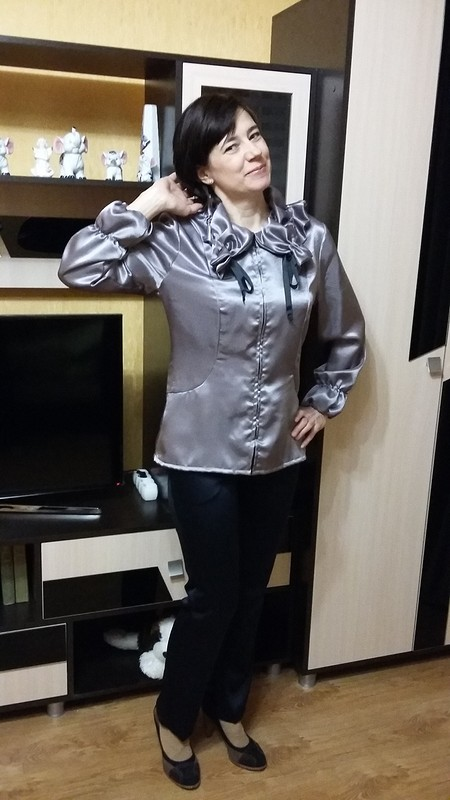 Дуэт:блуза ибрюки