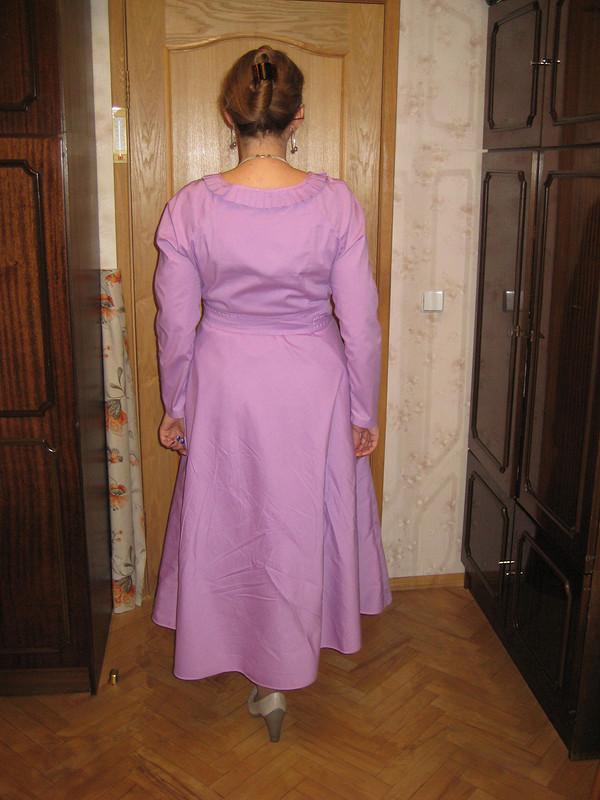 Платье-реглан срасклешенной юбкой от Госпожа Н