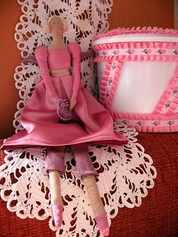 Работа с названием Принцесса -Тильда в розовом