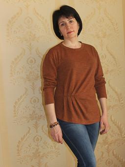 Работа с названием То ли пуловер, то ли туника