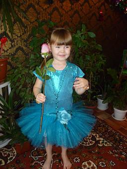 Работа с названием Платье на день рождения