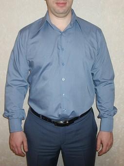 Работа с названием Рубашка мужская