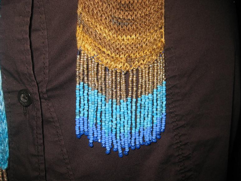 Тонкие шарфики