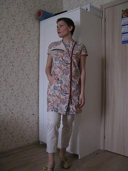 Работа с названием Жилет? или все же платье?)