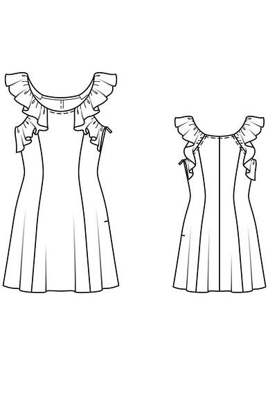 Как сшить платье вромантическом стиле