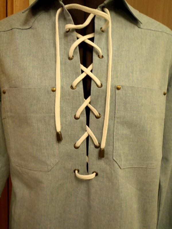 Льняная рубашка от Веснушка1979