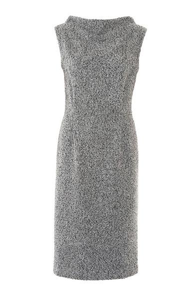 Как сшить платье сволнообразным вырезом горловины