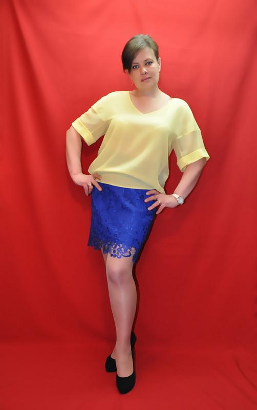 Для себя просто блузка ипросто юбка