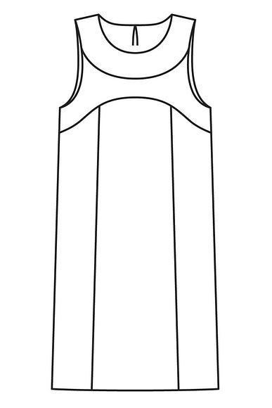 Вопрос-ответ: Как сшить платье безрукавов наподкладке?