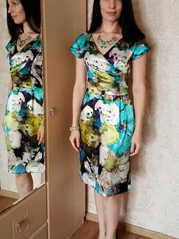 Работа с названием Сочное платье