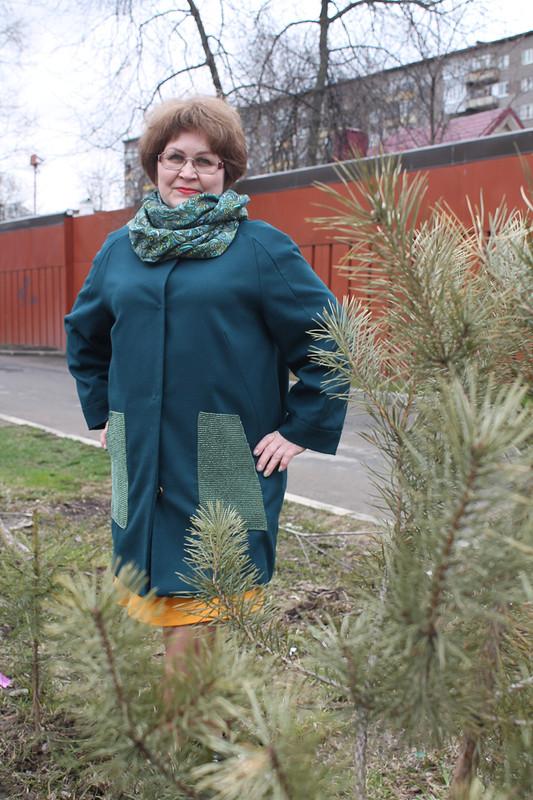 Эксклюзивное пальто от Снусмумрик