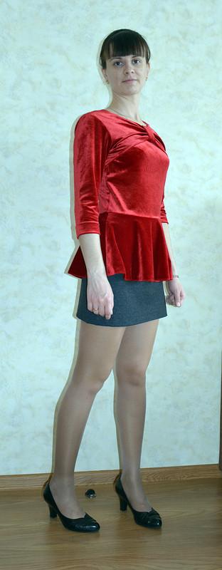 Блуза сбаской от Ampira