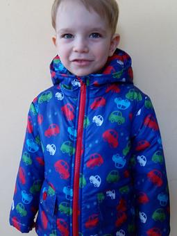 Работа с названием Курточка для сынулечки