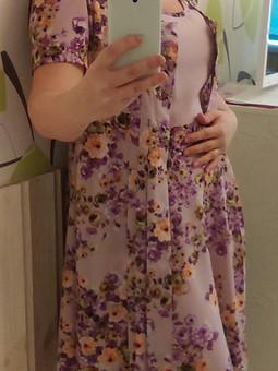 Работа с названием Лето начинается с нового платья