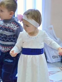 Работа с названием Детское нарядное платье