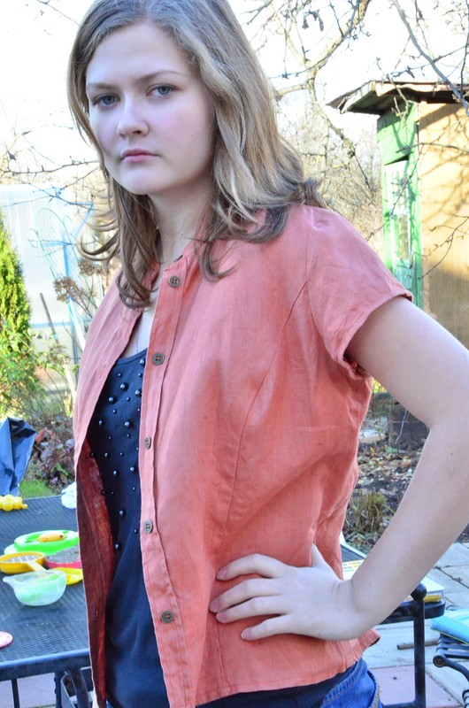 Льняная блузка от Vikulka75
