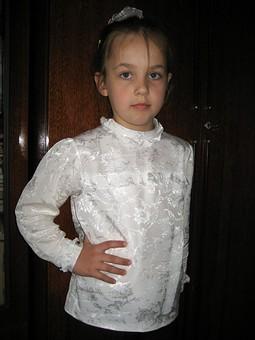 Работа с названием Нарядная блуза
