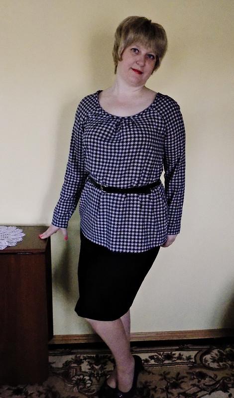 Блузка дляплюсика